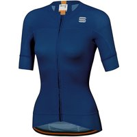 Sportful Women's Bodyfit EVO Jersey  - Blue Twilight-Gold - XXL, Blue Twilight-Gold