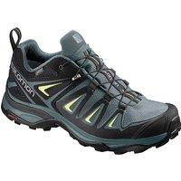Salomon Women´s X Ultra 3 Gore-Tex Hiking Shoes - ARTIC-Darkest Spruce-Sunny Lime - UK 4