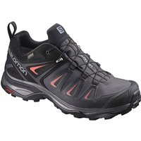 Salomon Women´s X Ultra 3 Gore-Tex Hiking Shoes - Magnet-Black-Mineral Red - UK 8