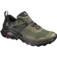 Salomon X Raise Gore-Tex Shoes - Grape Leaf-Black - UK 9
