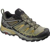 Salomon X Ultra 3 Wide Gore-Tex Hiking Shoes - Castor Gra-Belu - UK 7
