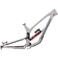 Nukeproof Dissent 290 Alloy Mountain Bike Frame 2021 - Concrete Grey, Concrete Grey