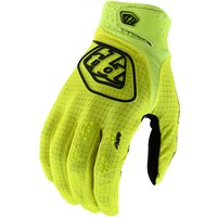 Troy Lee Designs Youth Air Gloves  - Flo Yellow - M, Flo Yellow