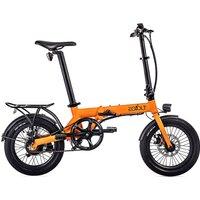 EOVOLT City Lightweight Folding E-Bike 2020 - Orange - 16