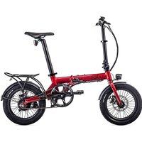 EOVOLT City Lightweight Folding E-Bike 2020 - Red - 16
