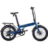 EOVOLT Confort Lightweight Folding E-Bike 2020 - Blue - 20