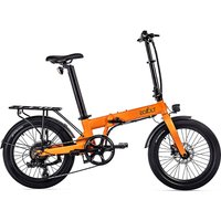 EOVOLT Confort Lightweight Folding E-Bike 2020 - Orange - 20