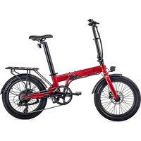 EOVOLT Confort Lightweight Folding E-Bike 2020 - Red - 20