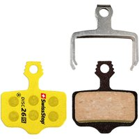 SwissStop Disc RS Brake Pads - Gelb - D34 - Shimano Road