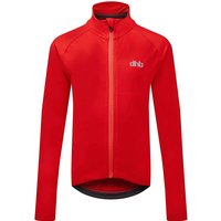 Image of dhb Kids Long Sleeve Jersey - Red - 8-9 Years, Red