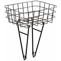 Pelago Front Rasket Bike Rack Basket - Black, Black
