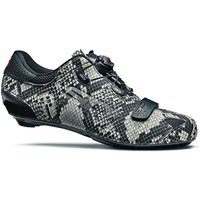 Sidi Sixty Road Shoes (Limited Edition) 2020 - Black-Grey-Snake - EU 48, Black-Grey-Snake