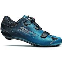 Sidi Sixty Road Shoes 2020 - Black-Petrol - EU 44.5, Black-Petrol