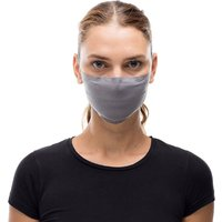 Buff Filter Mask (Solid Grey Sedona)  - One Size, Solid Grey Sedona
