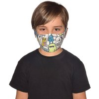 Buff Filter Mask Kids  - Boo Multi - One Size, Boo Multi