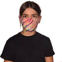 Buff Filter Mask Kids  - Dizen Multi - One Size, Dizen Multi