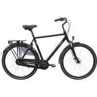 Laventino Glide 8+ Mens Urban Bike - Black - 61cm (24