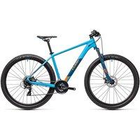 "Cube Aim 27.5 Hardtail Bike 2021 - Blue - Orange - 40cm (16""), Blue - Orange"