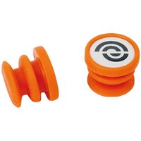 Bike Ribbon Silicone End Plugs - Orange