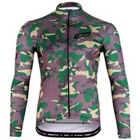 Morvelo Thermoactive Camo LS Jersey - Camouflage - XS, Camouflage