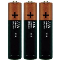 Sigma AAA Battery Set (3 Pack) - Grau/Gelb