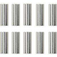 LifeLine CNC Gangschaltkabelgehäuse Kappen (10er Pack) - Silber  - 10 Pack