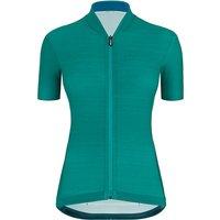 Santini Women's Colore SS Jersey 2021 - Petrol Green, Petrol Green
