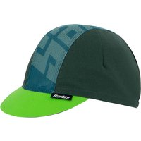 Santini Colore Cotton Cap 2021 - Military Green - One Size, Military Green