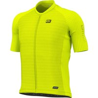 Ale R-EV1 Silver Cooling Jersey SS21 - Fluo Yellow - XXXL, Fluo Yellow