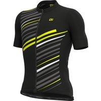 Ale Solid Flash Jersey SS21 - Black - XL, Black