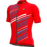 Ale Solid Flash Jersey SS21 - Red - XXXXXL, Red