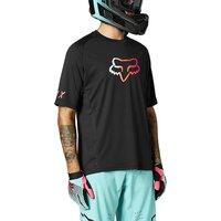Fox Racing Defend Short Sleeve Jersey 2021 - Black - M, Black
