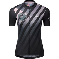 Image of dhb Ride for Unity Womens SS Jersey - BLACK-PINK - UK 6, BLACK-PINK