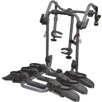 Peruzzo Pure Instinct 3 Bike Rear Mount Carrier - Black - 3 Bikes, Black