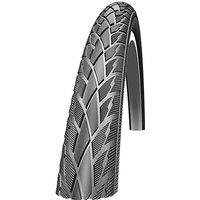 """Image of Schwalbe Road Cruiser Wire Road Tyre - Black- Reflex - 22"""" x 1.75"""", Black- Reflex"""