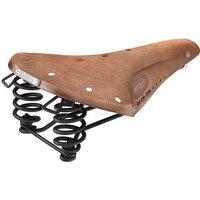 Brooks England B67-S Ladies Steel Saddle - Aged Brown, Aged Brown