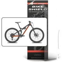 Bike Shield Half Pack Frame Protection Set - Clear - 4 Piece Set, Clear
