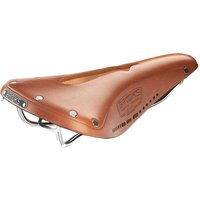 Brooks England B17 Carved Saddle - Honey, Honey