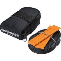 Continental Schlauchtasche mit Schlauch und Reifenheber - Schwarz