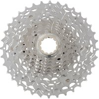 Image of Shimano XT M771 10 Speed MTB Cassette - Silver - 11-36t, Silver