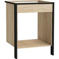 !!!promotype!!!&LGWCODE=580245;131005;474. Harmonisez votre espace de cuisine avec ce meuble bas conçu pour encadrer le four et les plaques de cu