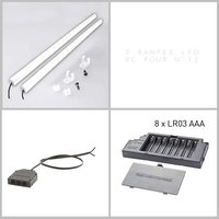 !!!promotype!!!&LGWCODE=645570;131005;474. Pour votre table, optez pour l'éclairage à LEDs OVIO coloris blanc. Il s'adapte sur les tables re