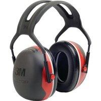 3M Gehörschutz Kapseln X3A schwarz/rot
