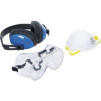 BGS Arbeitsschutz-Set 3-tlg.