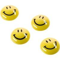 magnetoplan Magnet Smilies 16672 30mm gelb 6 St./Pack