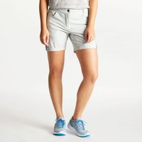Womens Melodic II Multi Pocket Walking Shorts Argent Grey