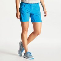 Womens Melodic II Multi Pocket Walking Shorts Blue Jewel