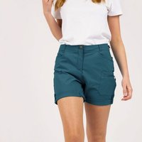 Womens Melodic II Multi Pocket Walking Shorts Dragonfly Green
