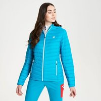 Womens Elative Down Fill Insulated Jacket Fresh Water Blue