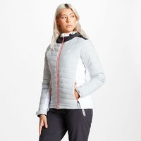 Womens Simpatico Quilted Ski Jacket Argent Grey